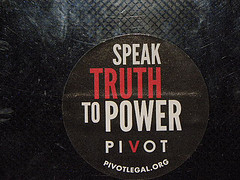 Speak truth to power