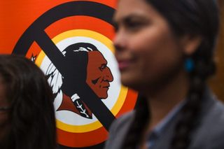 Native americans against using culture as a mascot